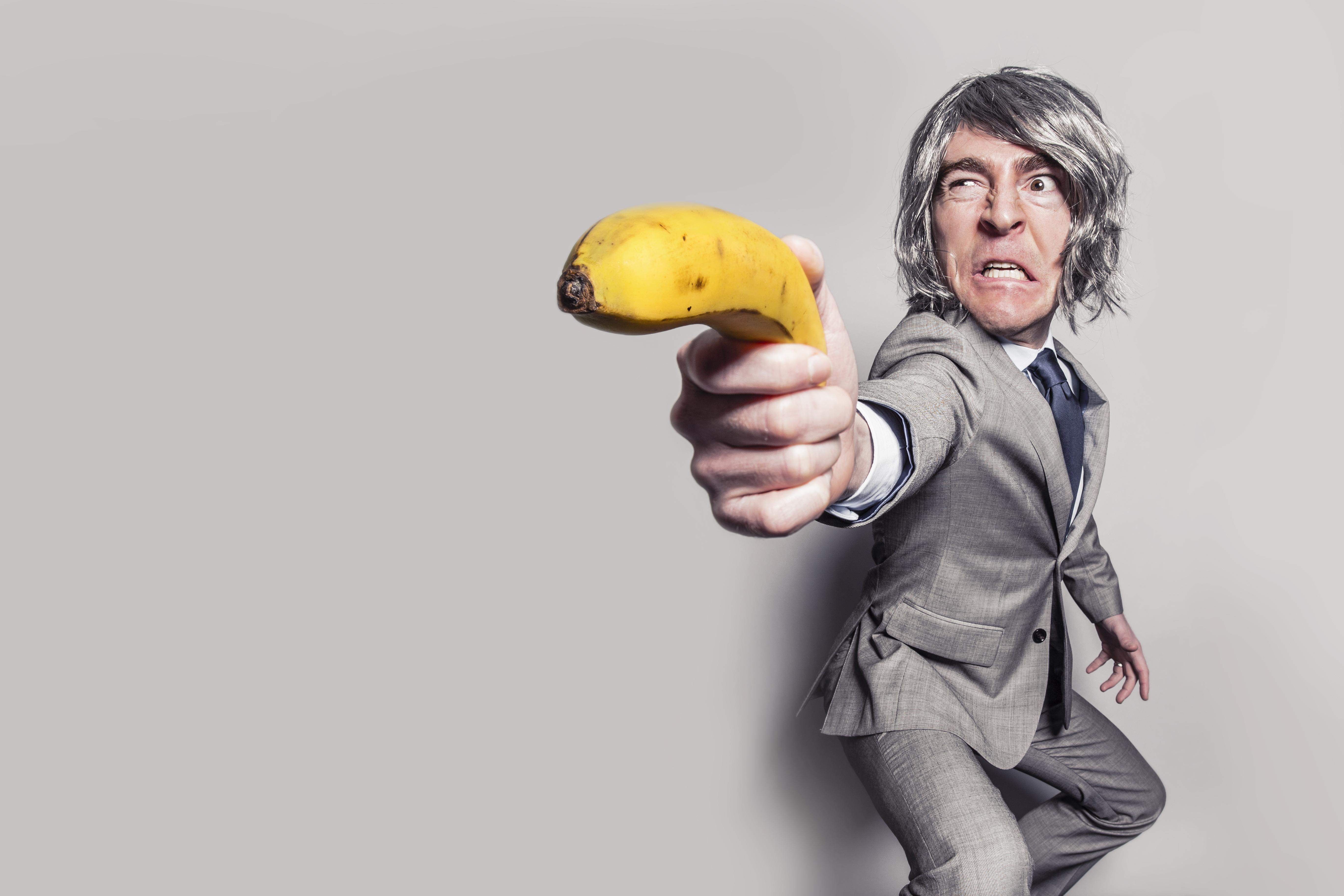 Foto stock banana puah