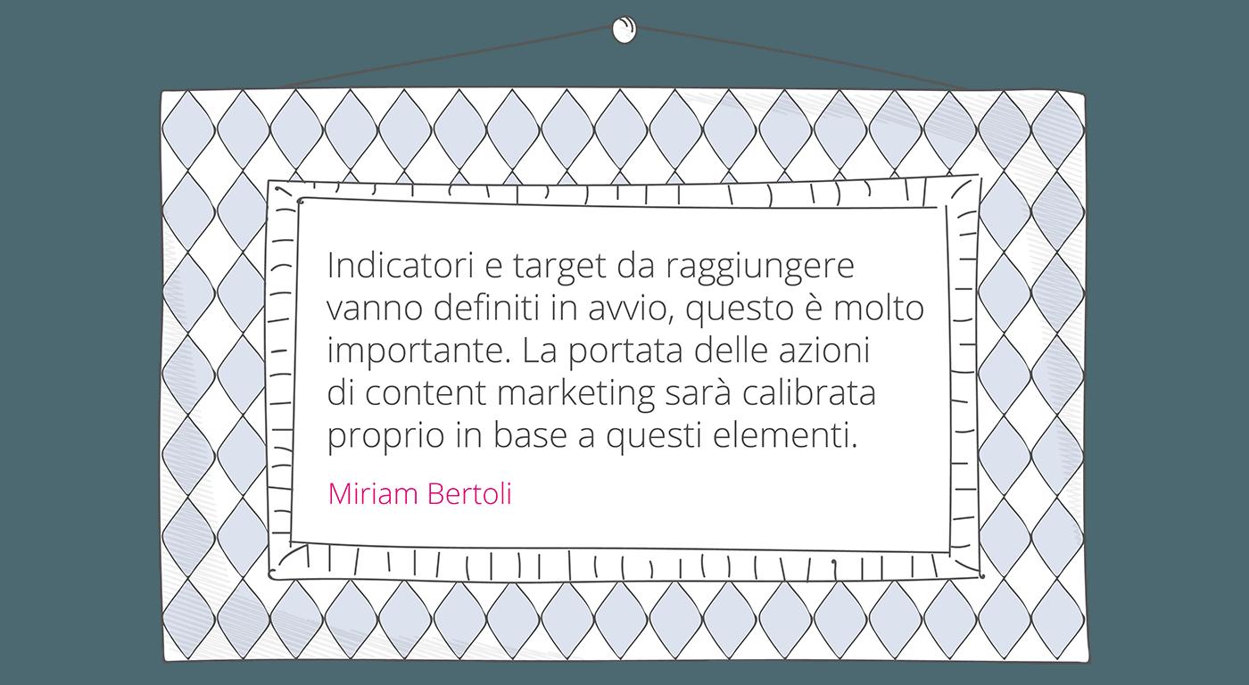 Miriam Bertoli content strategy