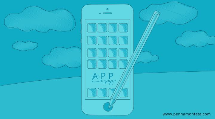 App copywriting. Consigli per scrivere copy creativi