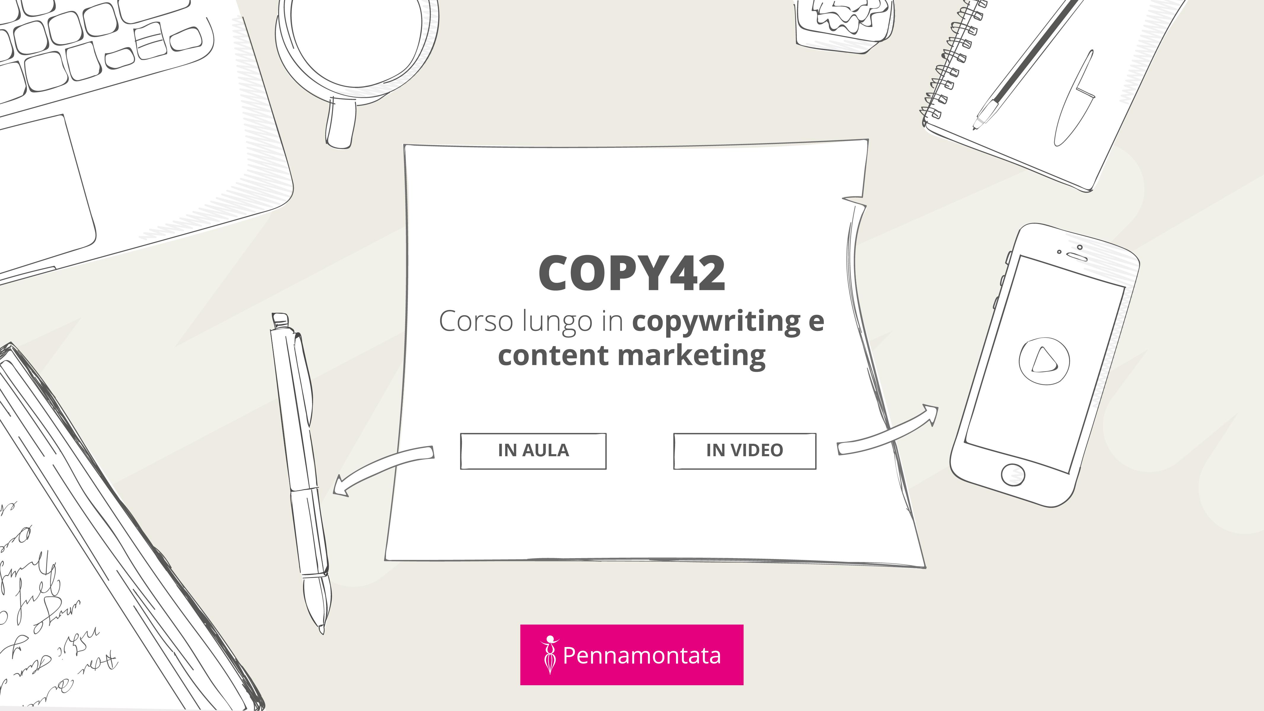 Corso copywriter Pennamontata