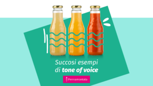 esempi di tone of voice in italiano