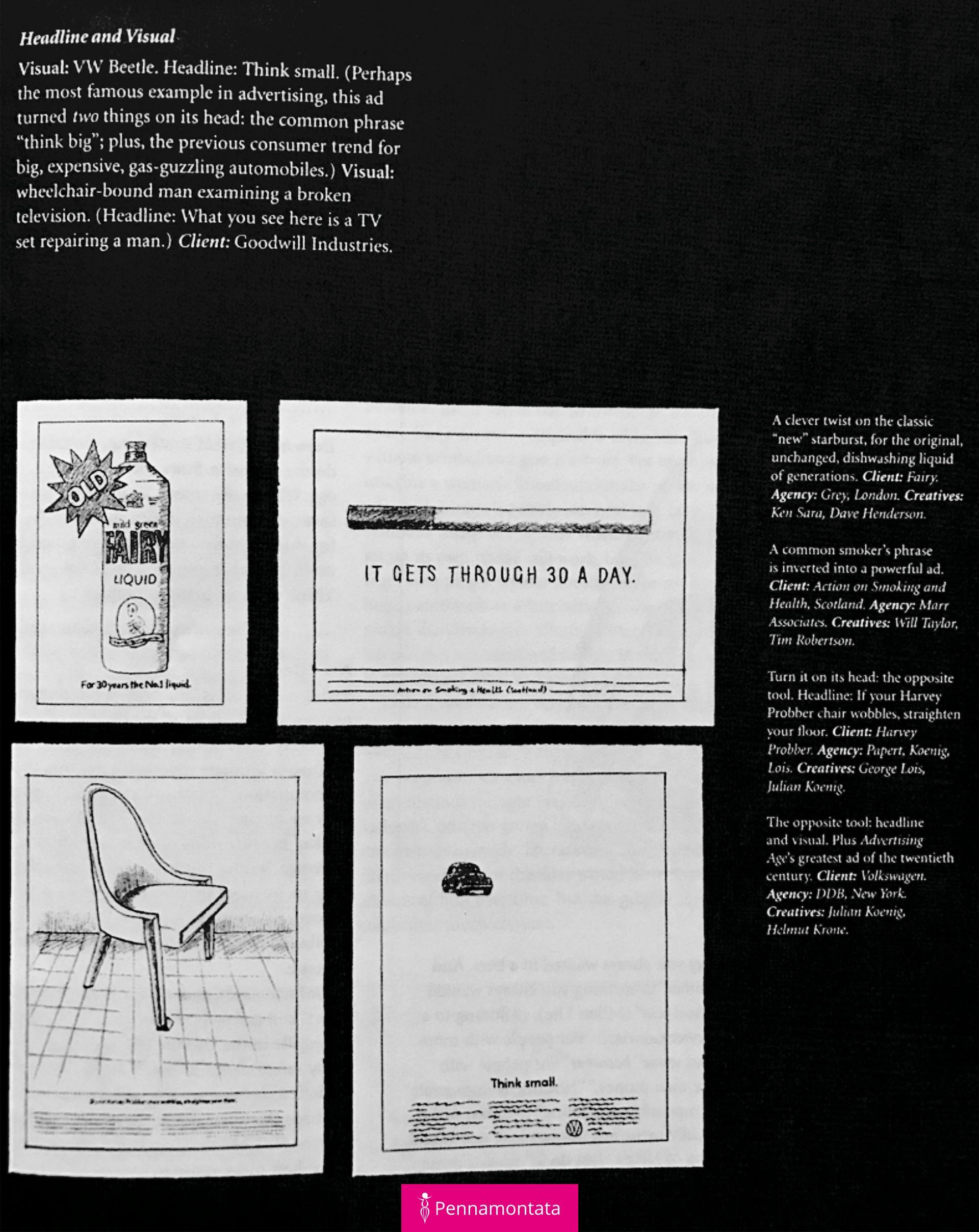 Portfolio creativo su cartoncino