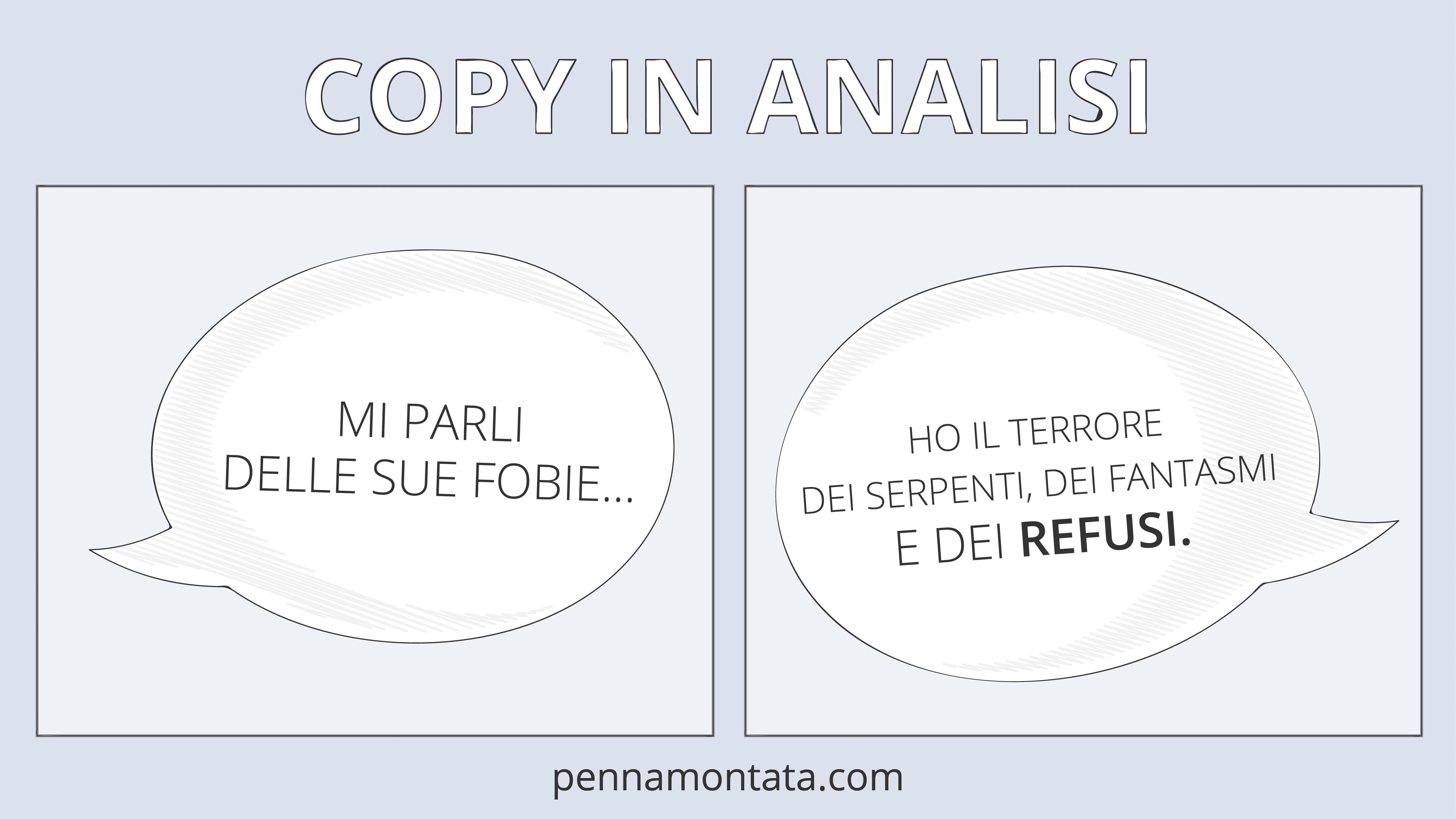 Il copy rifiuta-refusi
