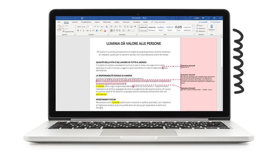 Pennamontata Semplificazione Editing