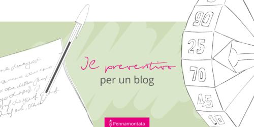 Preventivo per un blog: tutti i fattori da considerare