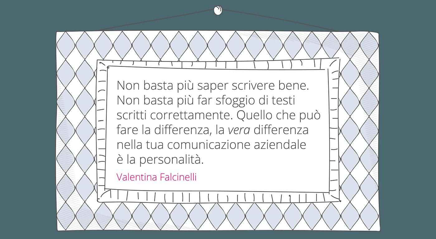 Copywriting consiglio Valentina Falcinelli