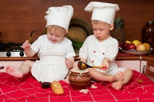 baby copywriter chef