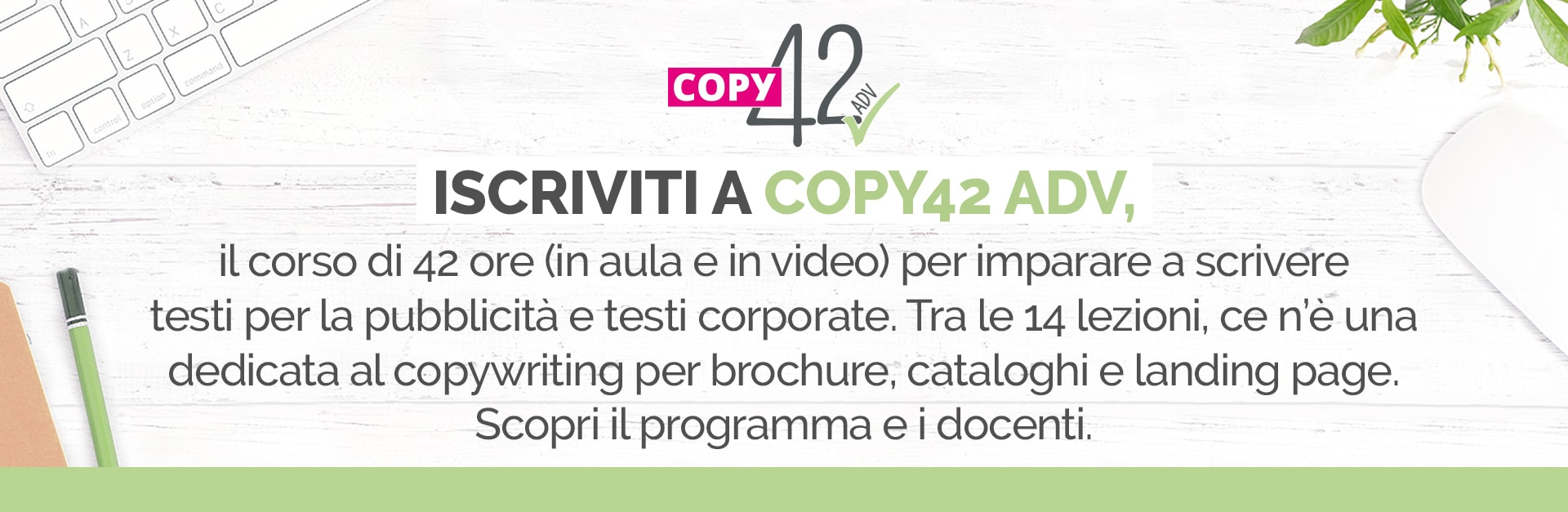 corso copywriting Copy42 ADV