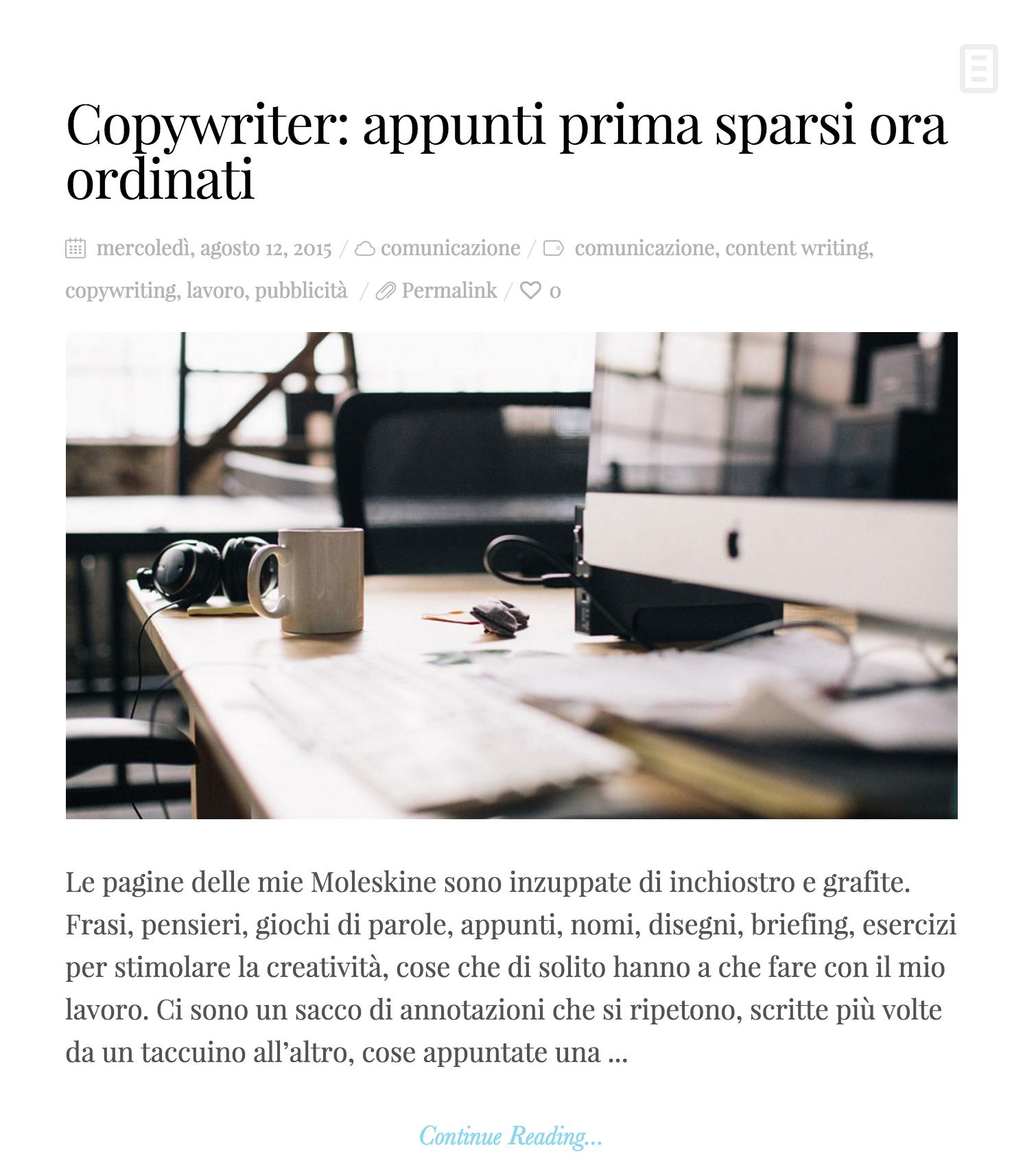 Davide Bertozzi blog