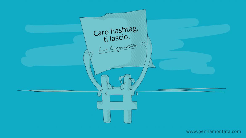 Creazione hashtag