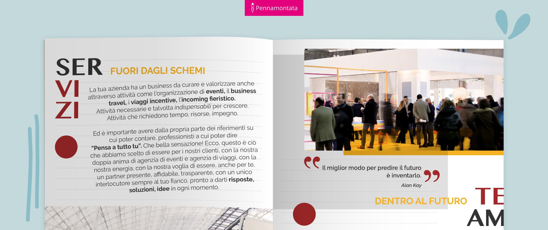 brochure pagina servizi