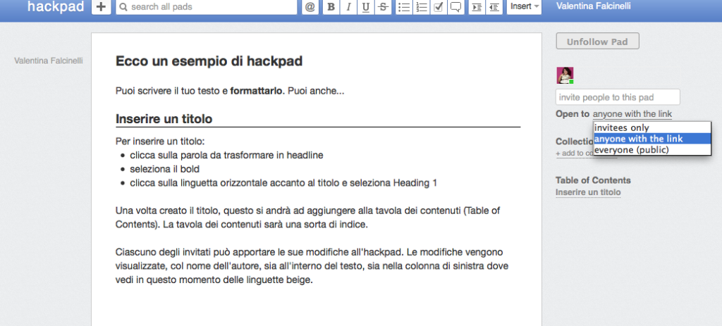 hackpad copywriter