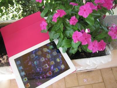 iPad, I copy, I write. You legg.