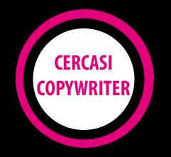 Offerte di lavoro per copywriter – Fine di ottobre