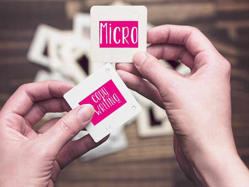 Micro Copywriting