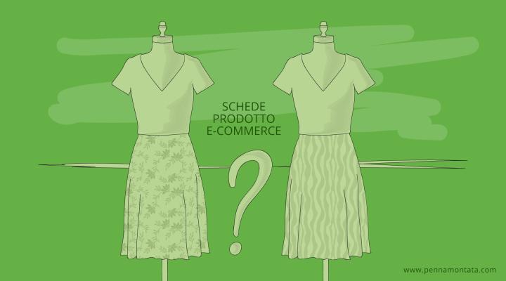 come creare schede prodotto e-commerce