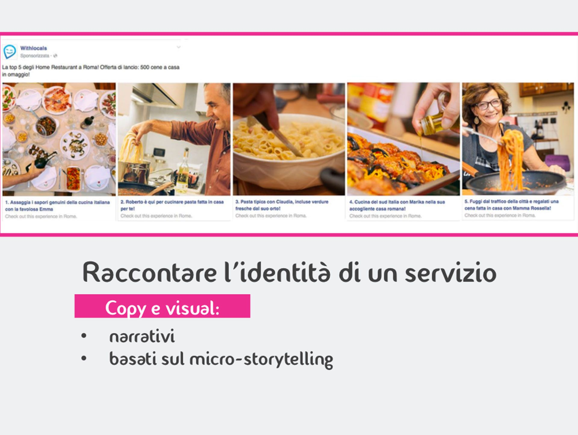 storytelling su Facebook Ads